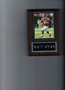 MATT RYAN PLAQUE ATLANTA FALCONS FOOTBALL NFL