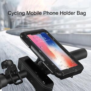 Bike Handlebar Phone Mount Holder Bracket For Motorcycle Bicycle Waterproof