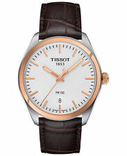 Tissot Men's Silver Band Wristwatches