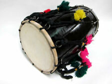Banjira DHOL Synthetic and Goatskin Heads 13 X 24 Inch