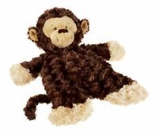 "Baby Ganz Monkey Flat-A-Pat Baby Blanket - 18"""