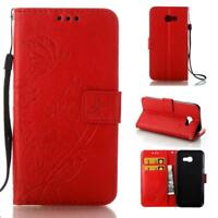 For Samsung Galaxy PU Leather Magnetic Flip Stand Card Slots Wallet Case Cover
