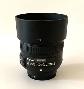 Nikon AF-S NIKKOR 50mm F/1.8 G - Great Condition!
