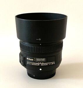 Nikon AF-S NIKKOR 50mm F/1.8 G - Great Condition!