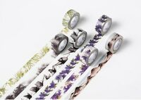 New Flower Pattern Washi Tape DIY Paper Sticky Adhesive Sticker Decorative Tape