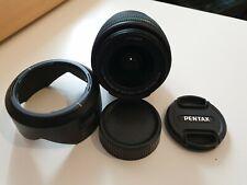 Pentax 18-55mm lens for Pentax digital DSLR - like new