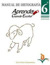 Manual Ortografia 6to Grado by Celvia De Oleo (2014, Paperback)