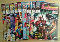 Knights of Pendragon, Marvel Comics lot of 10 issues VF/NM Iron Man Spider Man