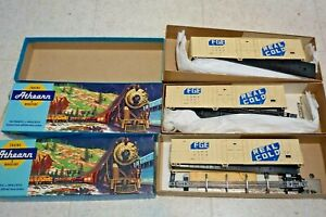 lot of 3 HO Athearn Walthers Kit 57' Reefer Real Cold /FGMR 13244 13308 13421