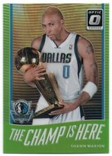 2017-18 Donruss Optic The Champ is Here Lime Green 15 Shawn Marion 159/175
