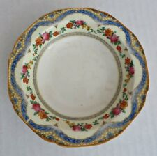 Vtg 1920's England Crown Ducal Floral Roses Small Fruit Bowl 5½