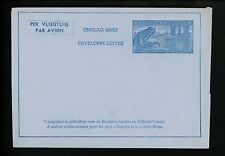 Postal Stationery H&G #FG4 Belgium Airmail Letter Sheet 1949 Vintage