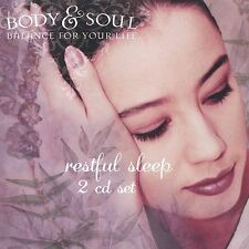 Body & Soul Balance for Your Life Restful 2 CD set  - **DISCS ONLY**