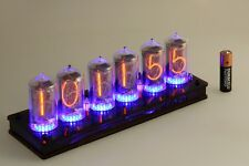 Nixie Clock zm1040 z5660m Six Tubes Tube Clock with remote RGB-Leds z566m