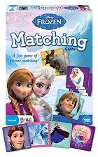 Disney Frozen Matching Game Elsa Anna Kristoff Sven Olaf Wonder Forge Preschool
