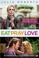 Eat Pray Love (DVD, 2010, Theatrical Version/Extended Cut)