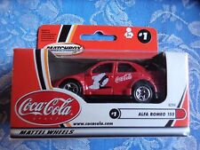Matchbox Alfa Romeo 155 MB#1 - Coca Cola