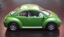 Volkswagen New Beetle toy car Diecast 1:32 Kinsmart green
