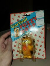 Vintage NEW! Jim Davis 1978 Garfield Fuzzy Hopper Cat Fur Wind Up Kat's Meow Toy