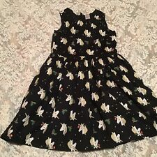 Carter's Kid Girl's Shimmering Unicorn Lined Dress Size 6/6X