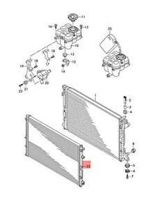 Genuine AUDI A6 Avant S6 quattro Additional Cooler For Coolant 4M0145804AA