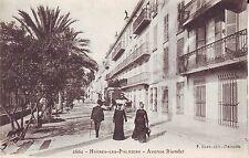 France Hyeres-les-Palmiers - Avenue Riondet old unused postcard