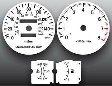 1995-2000 Chrysler Sebring Tach Dash Instrument Cluster White Face Gauges