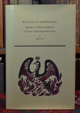 Voice of Phoenix Metaphors of Death Rebirth in Iberian Renaissance SIGNED 2004