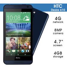 Neuzustand HTC Desire 610 8GB 4G Original Android Schwarz Entsperrt Smartphone