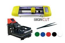 Vinyl Cutter and Heat Press T-Shirt and Signmaking Beginner Starter package