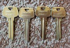 4 Sargent Rj Original Uncut Key Blanks 6 Pin Sargent