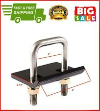 """2"""" Trailer Lock Down Hitch Tightener Stabilizer Heavy Duty Anti Rattle Tow Clamp"""