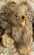 "Vintage 50's Hermann 18"" Mohair Zotty Teddy Bear"