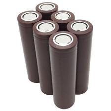 6X Rechargeable 18650 Battery 3000mAh High Drain 3.7V Li-ion Flat Top for Vape