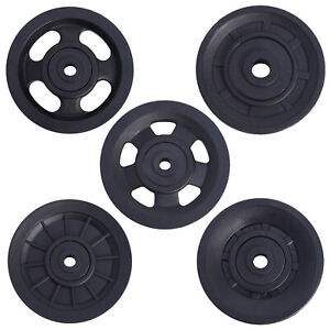 Universal Bearing Pulley Wheel for Cable Machine Gym Equipment Tool Garage Door