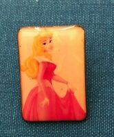 disney trading pin princess Aurora Sleeping Beauty vintage souvenir rectangle