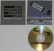 Dillinger Escape Plan - Miss Machine two song Sampler -  original U.S. promo cd