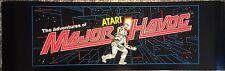 """Major Havoc Arcade Marquee 26""""x8"""""""