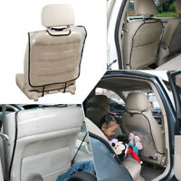 Car SUV Cushion Seat Back Protector Cover For Children Kick Mat Mud Anti Stepped