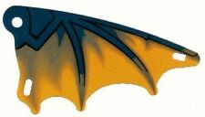 LEGO - Plastic Triangle 6 x 12 Scalloped Wing - Wyvern Dragon Wing Pattern (X2)