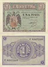España - Estado Español- Año: 1938 - numero 00431 - 1 pta. 1938 Serie A/F SC