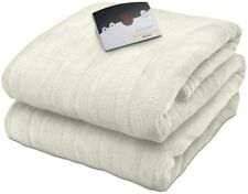 Biddeford Microplush Electric Blanket (Cream, King)