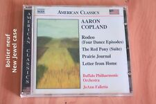 Aaron Copland - Rodeo The red Pony Prairie Journal Letter - Falletta - CD Naxos
