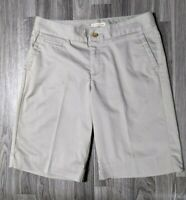 Dockers Womens Size 8 Mid Rise Khaki Bermuda Shorts