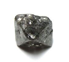 6.11 Carats Unique Uncut Gemmy Raw Rough Diamond Octahedron