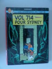 Tintin par Hergé Vol 714 pour Sydney EO 1968 très bon état