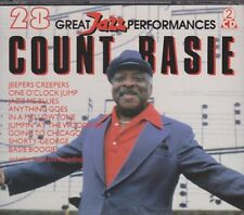 COUNT BASIE 28 Great Jazz performances (Jeepers Creepers) 1990 DOUBLE CD 1990