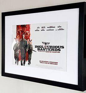 INGLOURIOUS BASTERDS Movie PHOTO Print POSTER Textless Film Art Brad Pitt 008