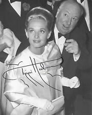Tippi Hedren & Alfred Hitchcock Original in Person Signiert 8X10 At