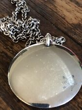 W & S.S Sterling Silver Necklace Norway Norwegian